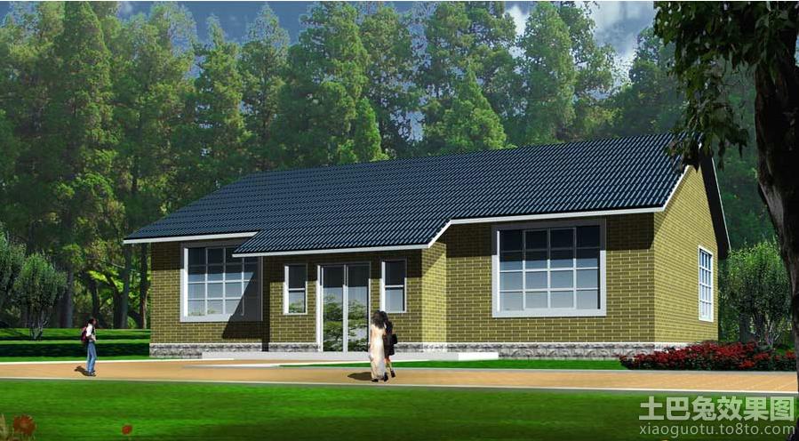农村一层半房屋设计图纸展示