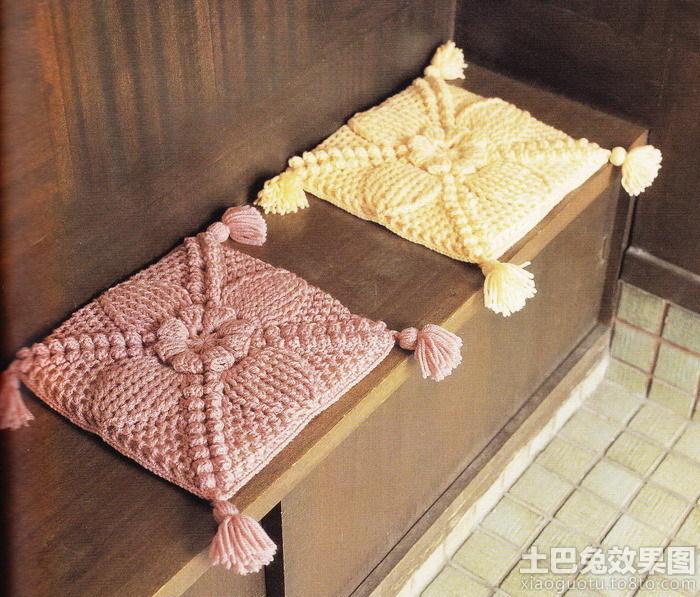 毛线编织坐垫图片装修效果图