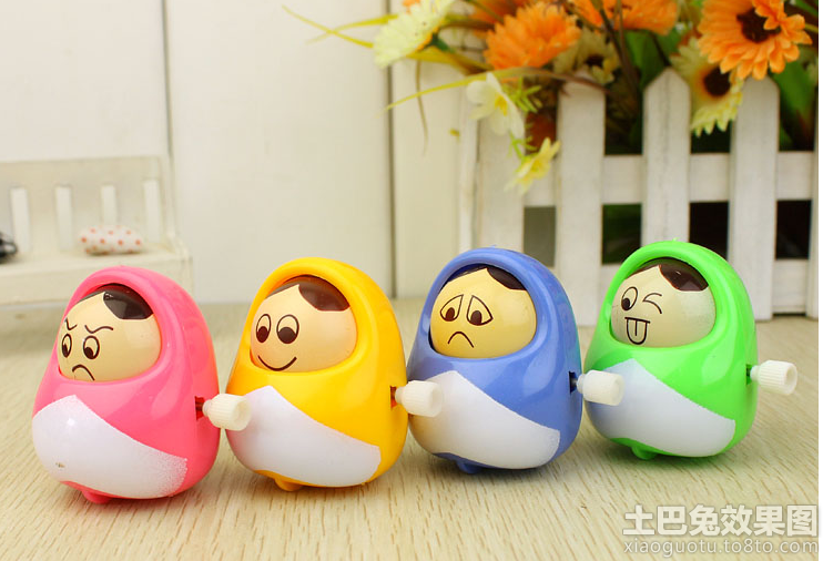 喜怒哀乐四件套娃娃创意玩具设计图片装修效果图