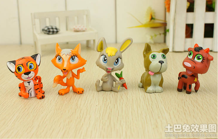 客厅卡通动物创意玩具摆设图片装修效果图