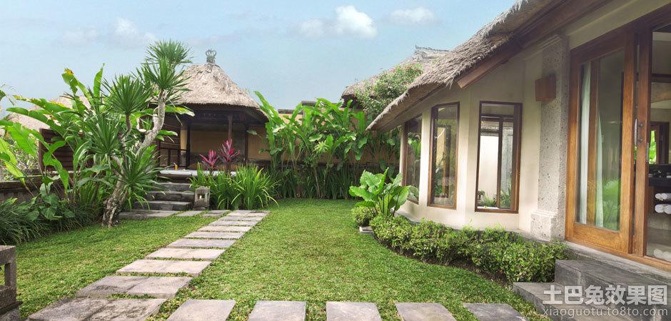 别墅室外花园设计实景图片装修效果图_第1张 - 家居