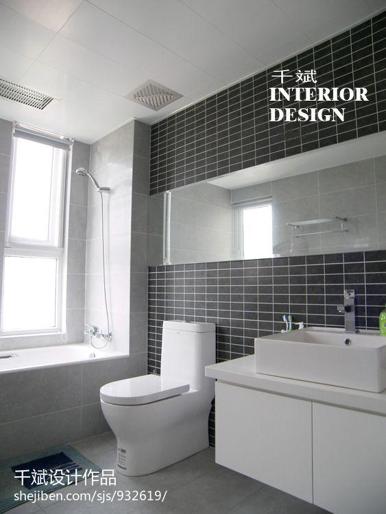 卫生间浴缸瓷砖装修效果图装修效果图_第16张 - 家居
