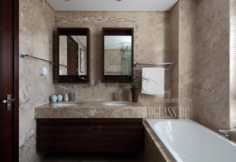 卫生间大理石墙面效果图装修效果图