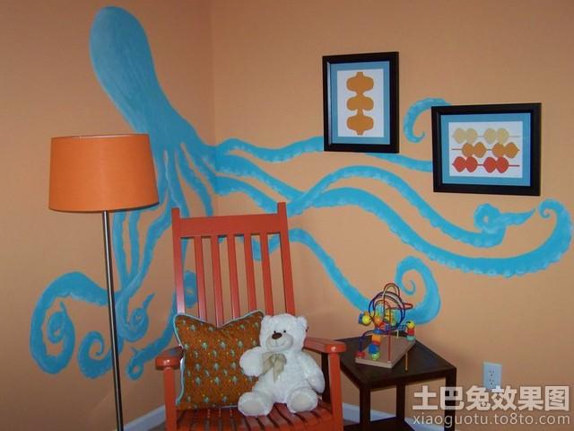 创意手绘壁画设计图片装修效果图