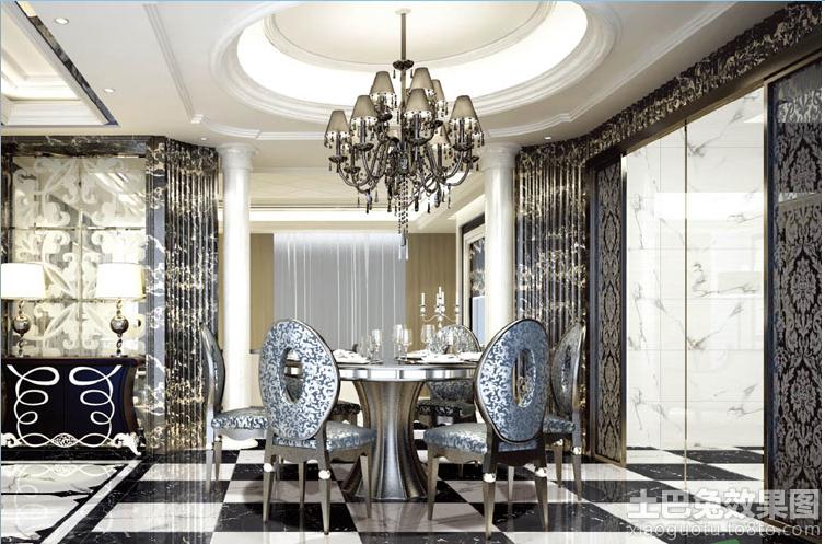 餐厅全抛釉瓷砖效果图欣赏装修效果图