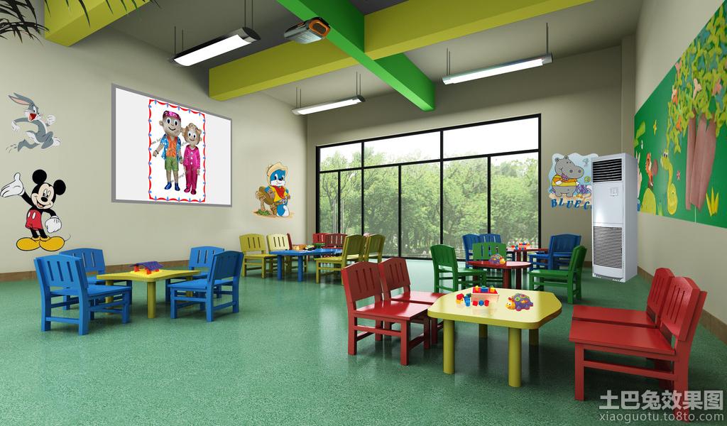 幼儿园室内手绘设计装修效果图