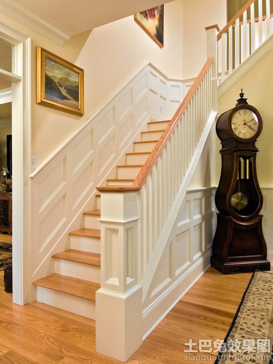 欧式墙裙楼梯 效果图片装修 效果图 第4张 家居