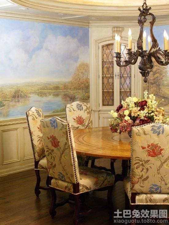 欧式家庭餐厅壁画贴图 (3/10)图片