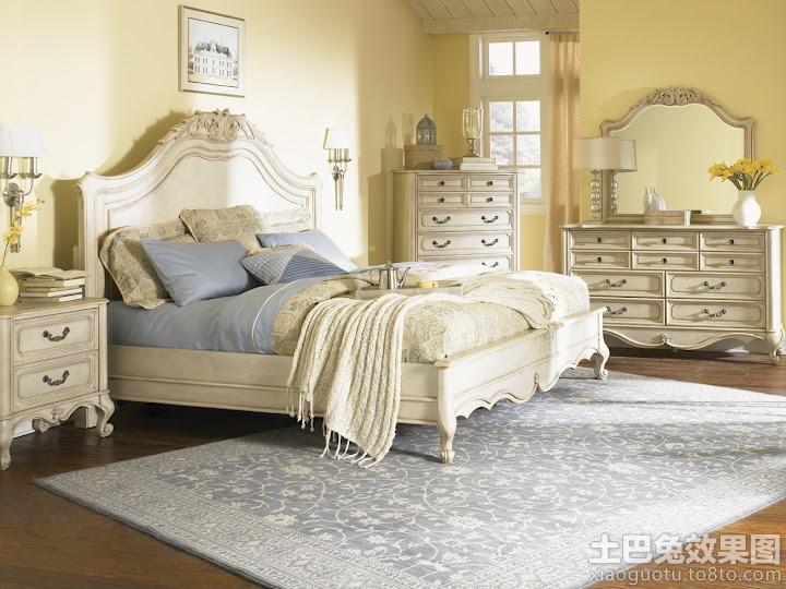 欧式卧室家具效果图装修效果图