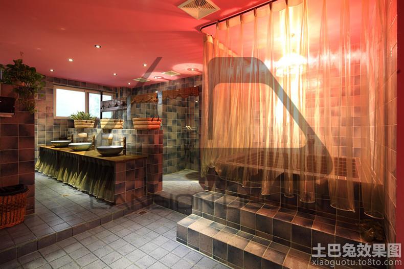 东南亚风格卫生间浴室帘图片装修效果图 第1张 家居图库 九正家居网 -高清图片