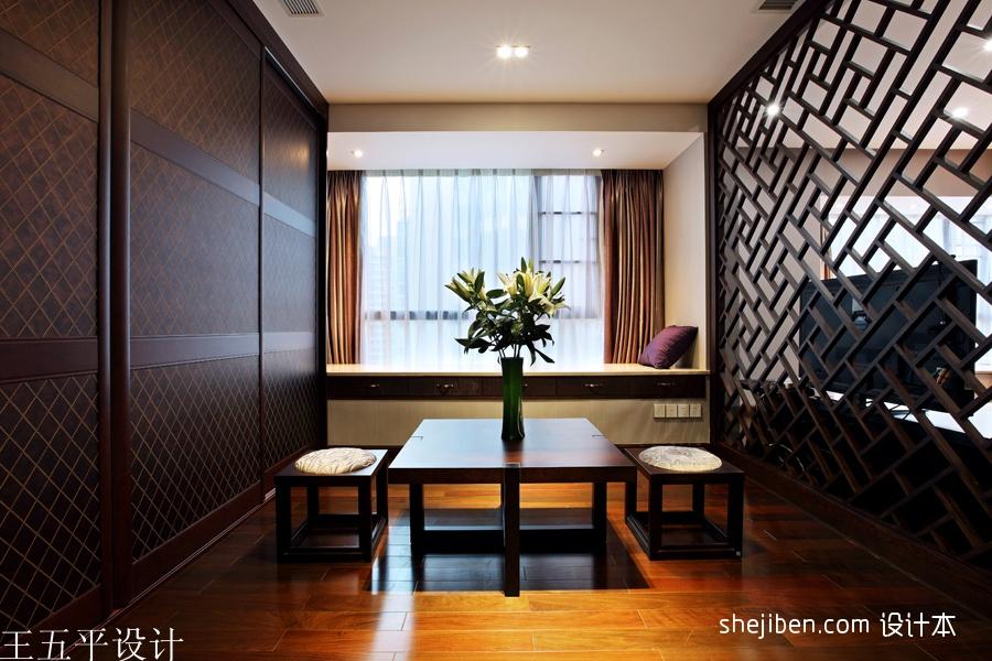 2013中式风格飘窗装修效果图片装修效果图 第21张 家居图库 九正家居高清图片