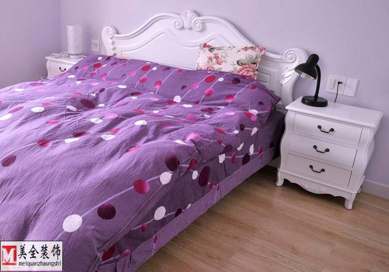 欧式卧室床头柜效果图装修效果图