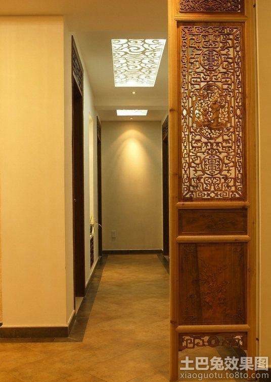 中式镂空雕花实木屏风图片装修效果图_第4张 - 家居图片