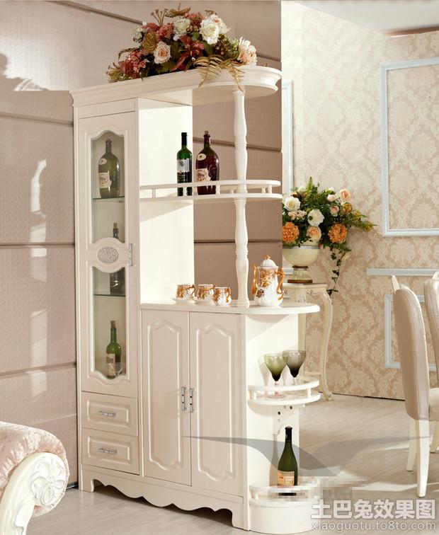 欧式风格酒柜隔断效果图装修效果图 第9张 家居图库 九正家居网
