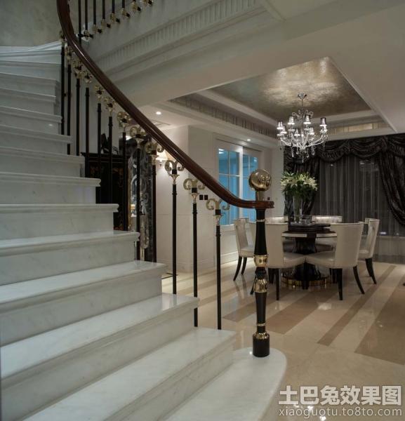 现代复式楼室内楼梯扶手设计 (3/4)