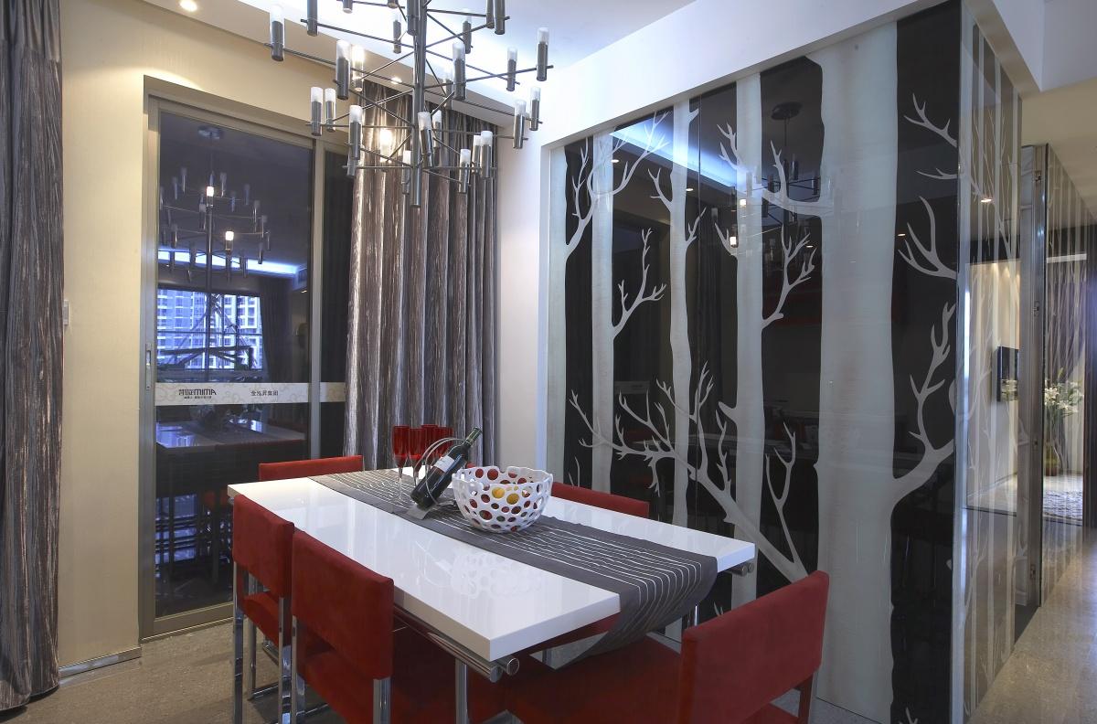 现代家庭装修餐厅效果图装修效果图