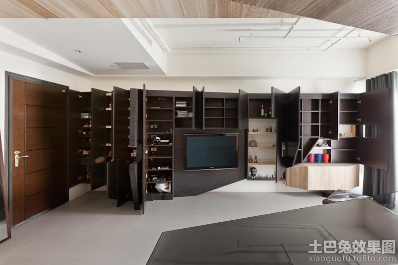 现代风格客厅电视柜设计图片装修效果图 第6张 家居图库 九正家居网 -高清图片
