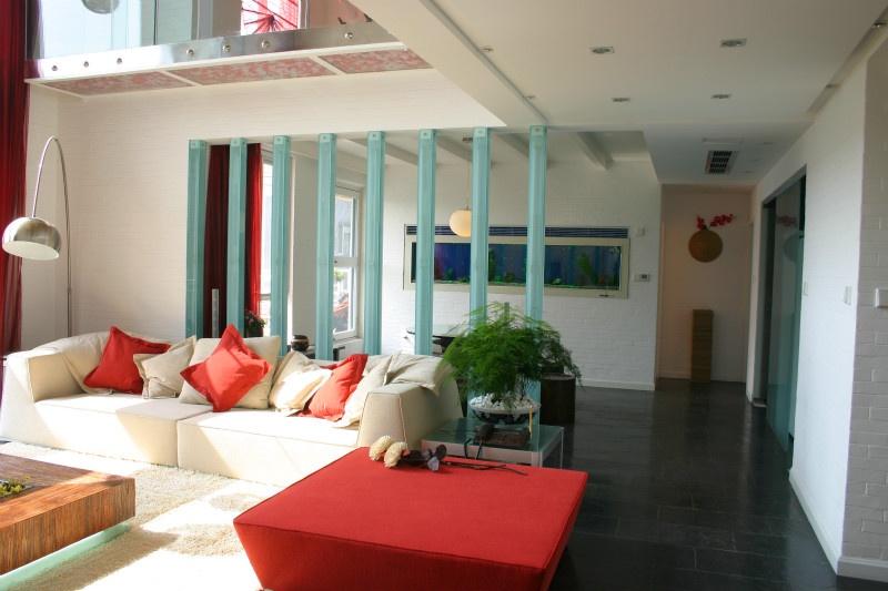 客厅 木条 隔断 装修效果图装修效果图 第4张 家 高清图片