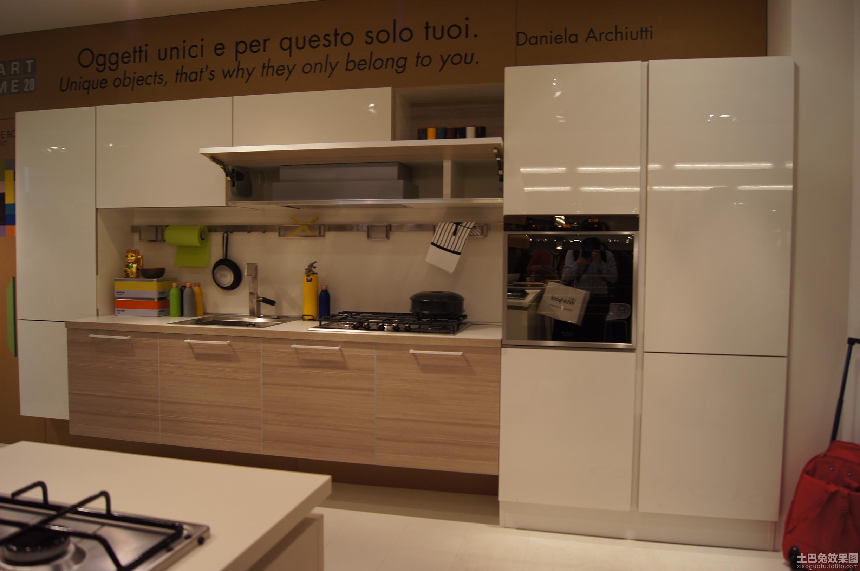家庭厨房志邦橱柜图片大全2013装修效果图
