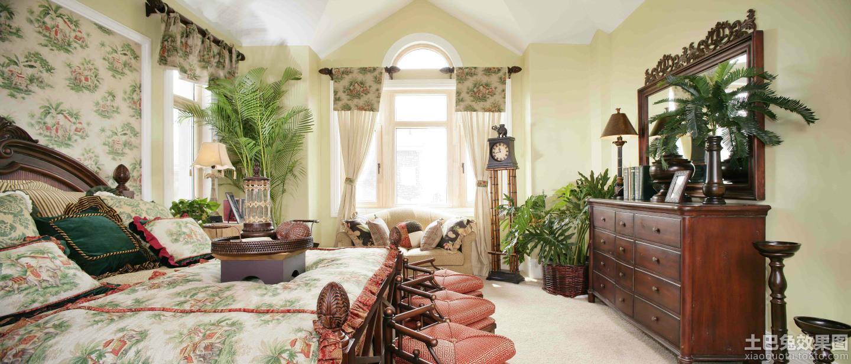 家居图库 美式田园风格别墅装修设计效果图欣赏 > 第4张  共 7 张图片图片