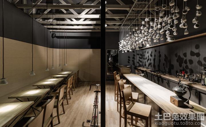 木结构咖啡店设计装修效果图