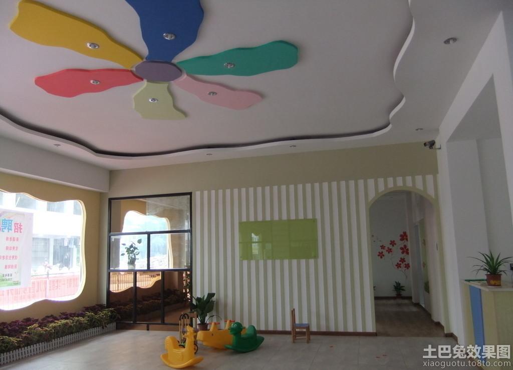 幼儿园大厅装饰图片装修效果图
