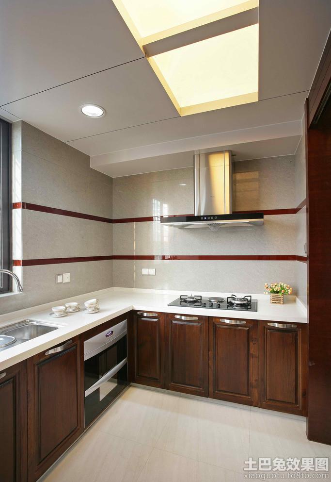 厨房铝 扣板吊顶效果图装修效果图 第1张 家居