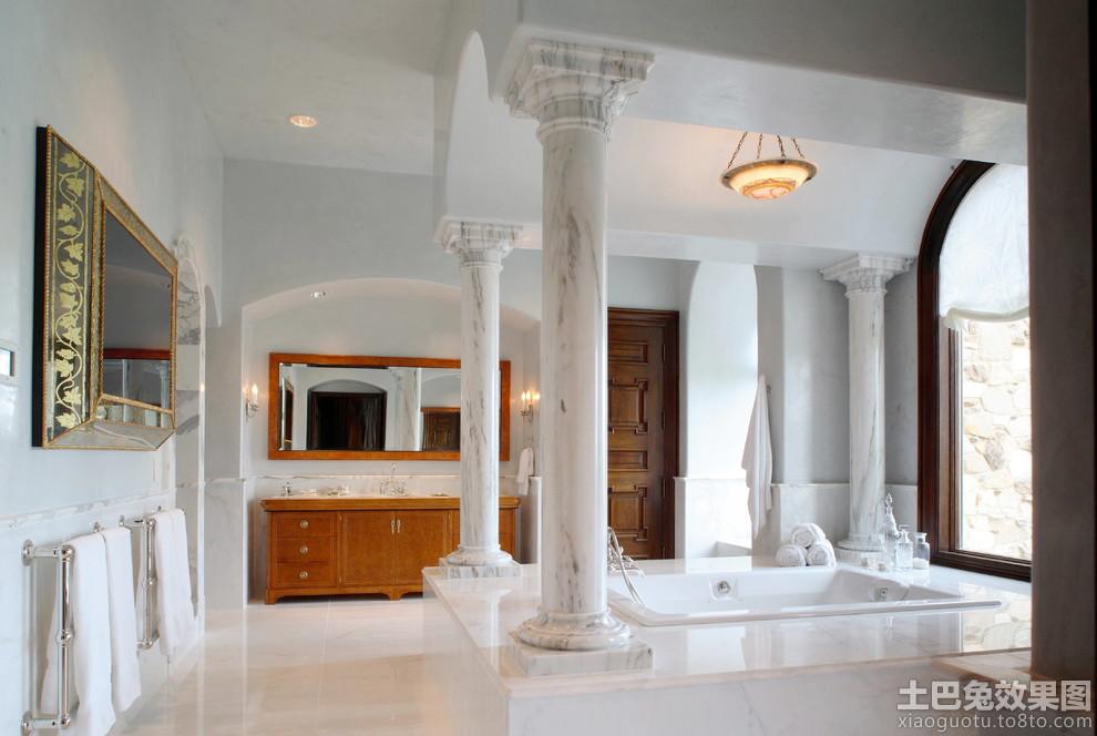 室内欧式罗马柱图片大全装修效果图 第6张 家居图库 九正家居网高清图片