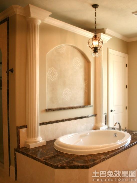 家庭室内欧式罗马柱图片装修效果图 第5张 家居图库 九正家居网高清图片