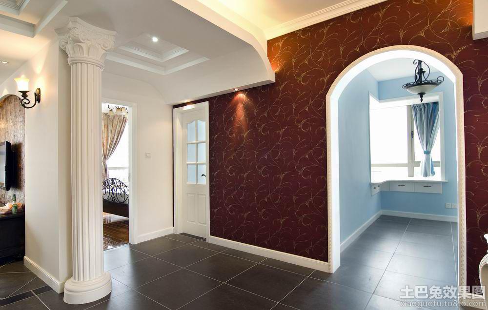 室内欧式罗马柱图片装修效果图 第2张 家居图库 九正家居网高清图片