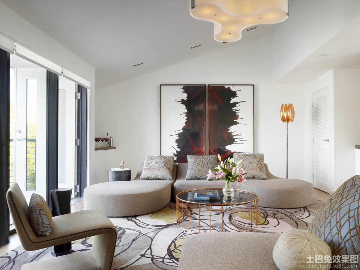 loft户型客厅装修图装修效果图