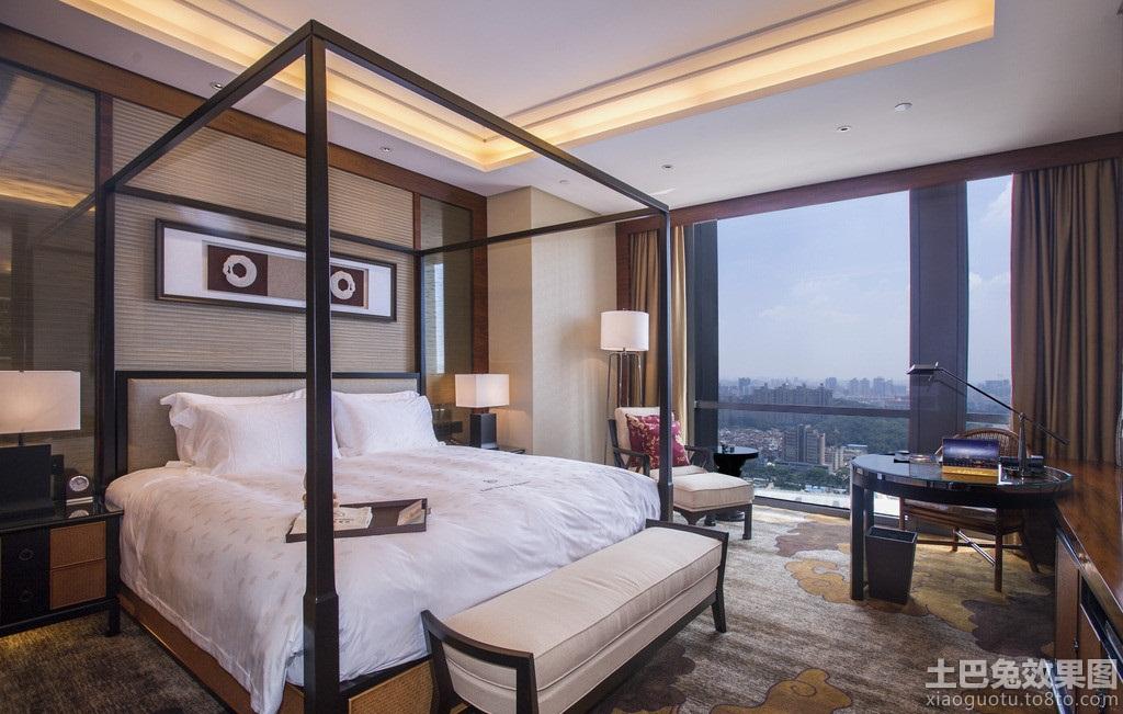 中式五星酒店客房设计图片 (5/11)图片