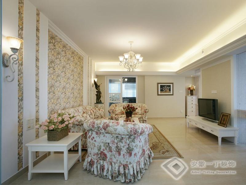 简欧式二居室客厅装修效果图欣赏装修效果图