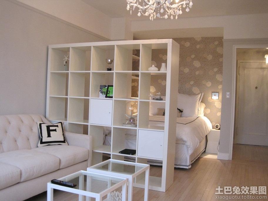 40平米单身公寓装修设计图装修效果图 第1张 家居图库 九高清图片