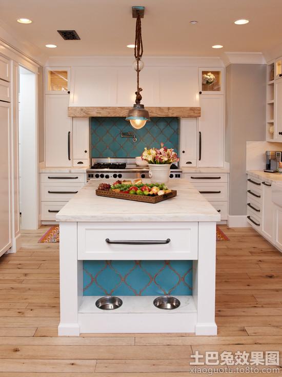 厨房瓷砖欧式花纹图片装修效果图