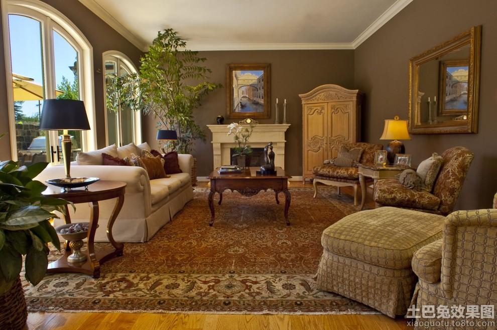 别墅墙面咖啡色客厅效果图装修效果图_第2张别墅崇明托斯卡纳图片