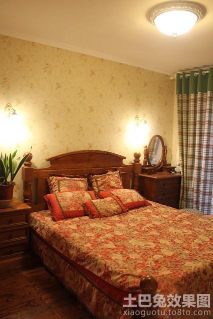 家装卧室美式家具图片装修效果图_第2张 - 家居图库图片