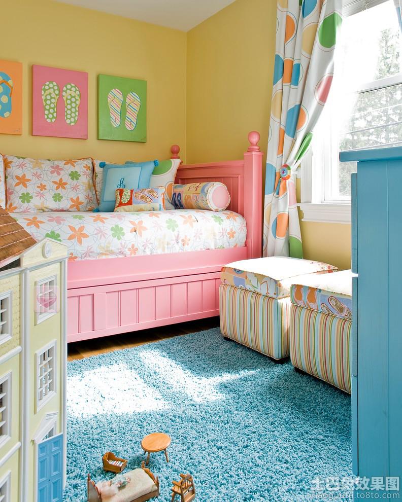 宜家温馨儿童房间布置图片装修效果图图片