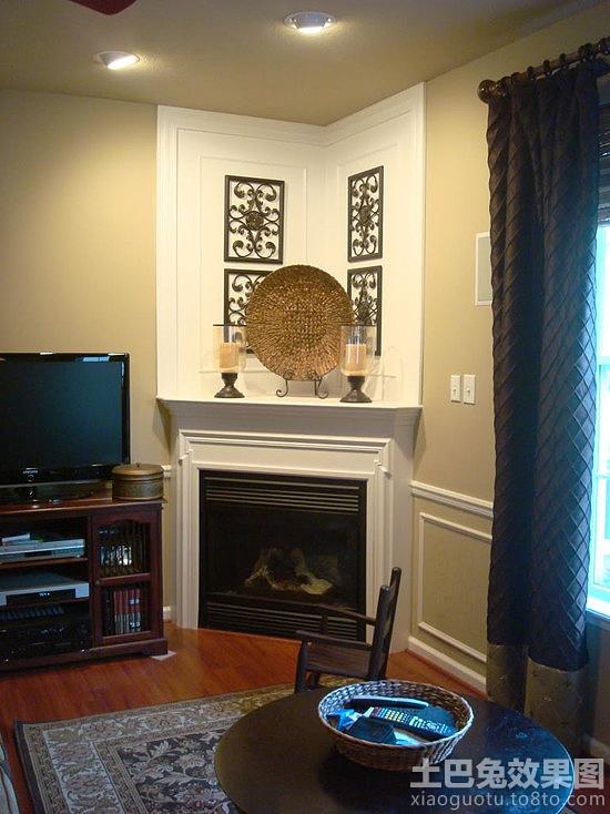 室内客厅墙角装饰效果图片装修效果图 第9张 家居图库 九正家居网