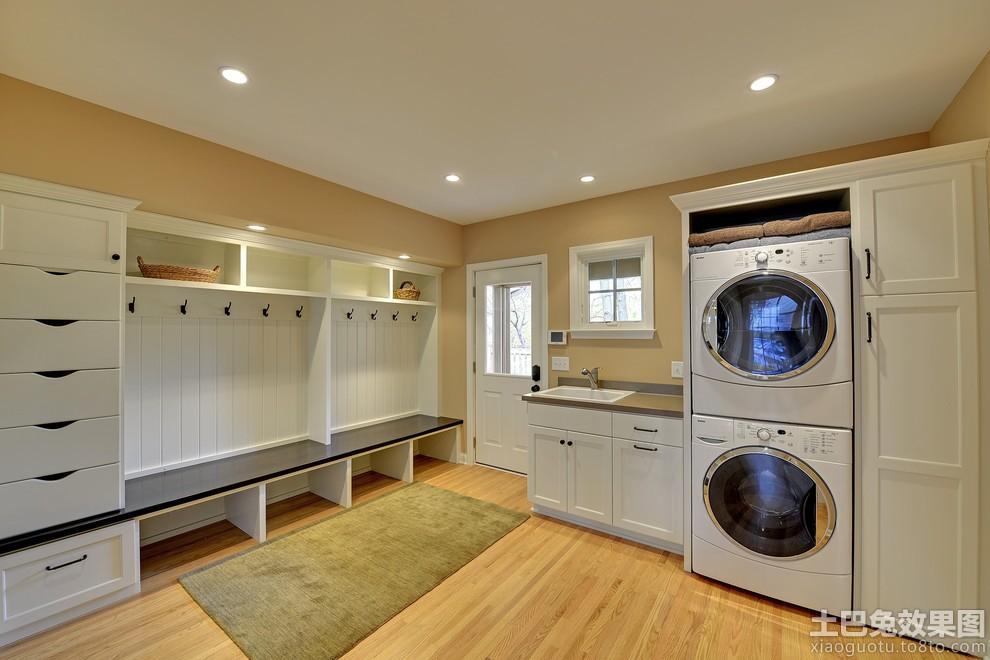 洗衣房海藻泥墙面漆效果图装修效果图 第9张 家居图库 九正家居网 -洗高清图片