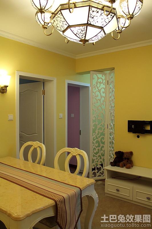 家装室内海藻泥墙面漆效果图片装修效果图 第6张 家居图高清图片