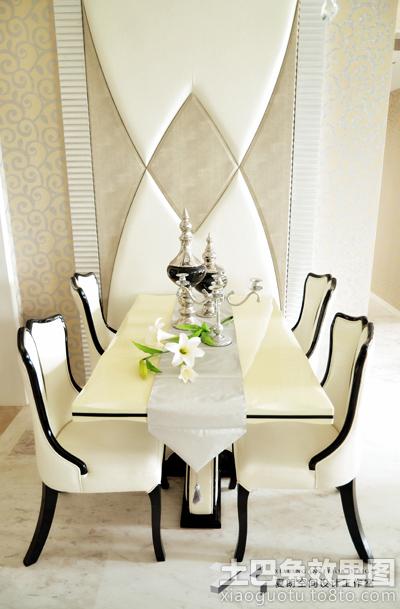 欧式新古典餐厅背景墙装修效果图片装修效果图