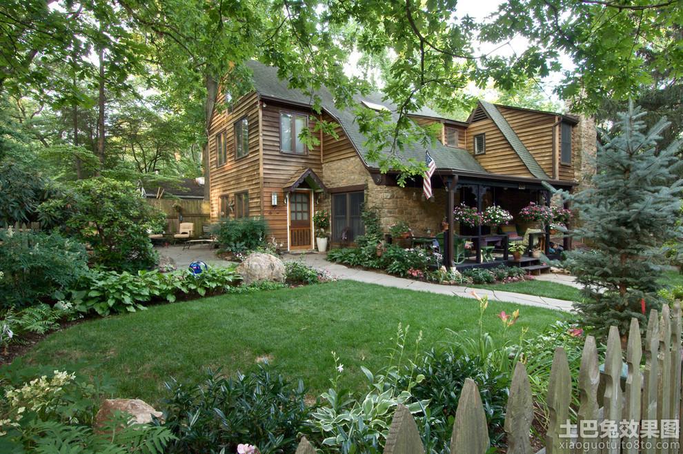农村木结构房屋照片装修效果图