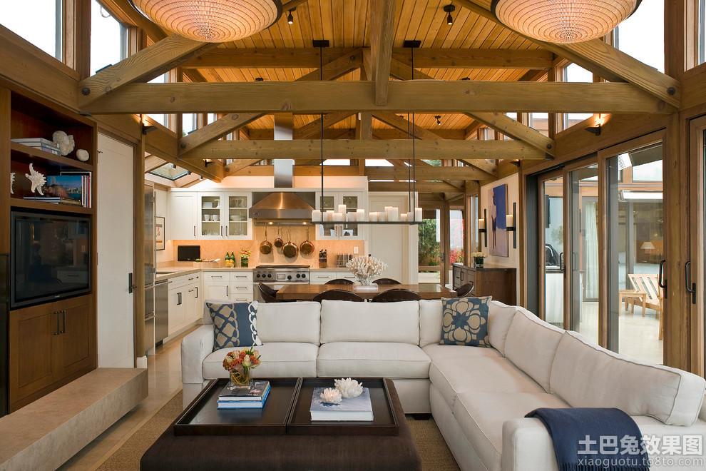 轻型木结构房屋图片装修效果图