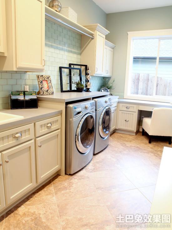欧式家用洗衣房设计效果图装修效果图 第14张 家居图库 九正家居网 -高清图片