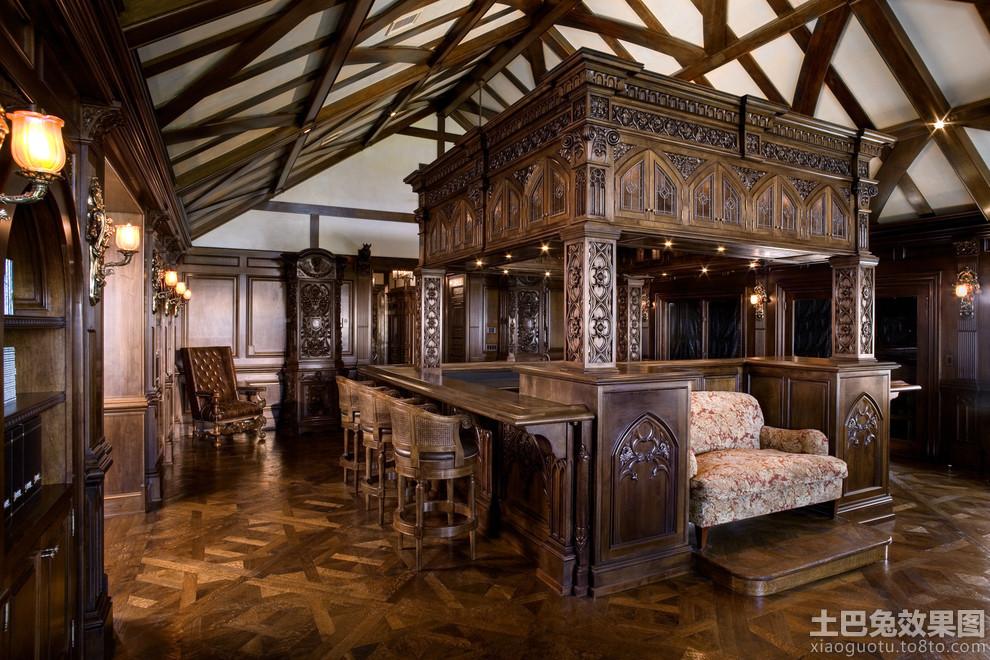 哥特式风格装修设计效果图装修效果图 第15张 家居图库 九正家居网