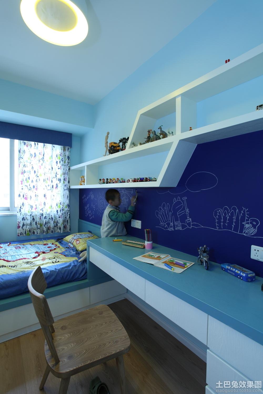 简约儿童房书桌设计效果图装修效果图_第1张 - 家居