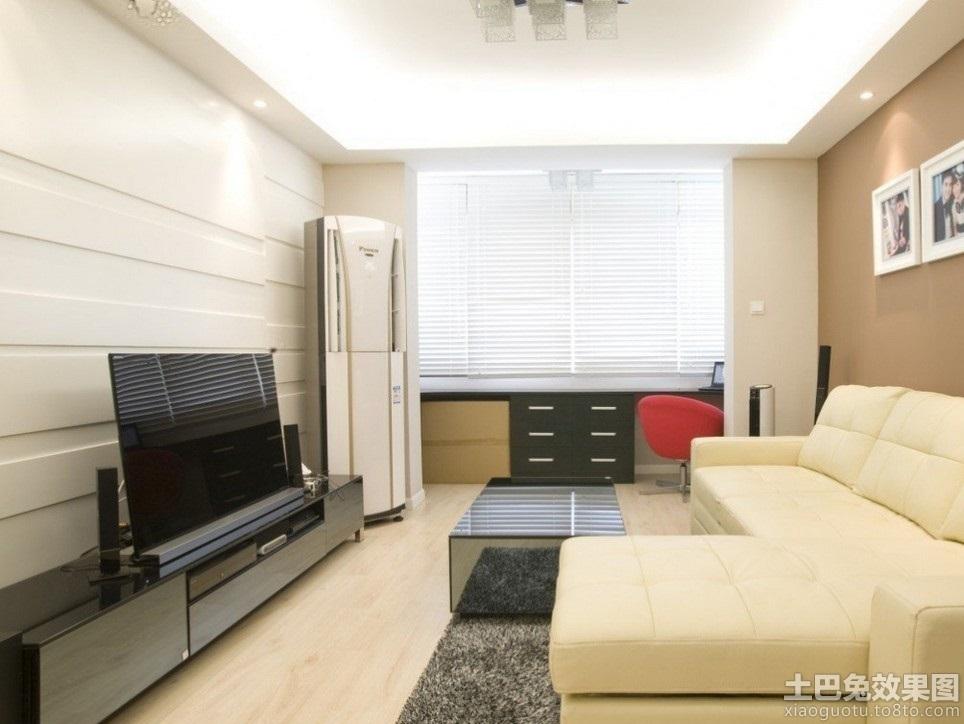 播电视�_小客厅影视墙下不放电视柜用什么代替好 无电视柜背景