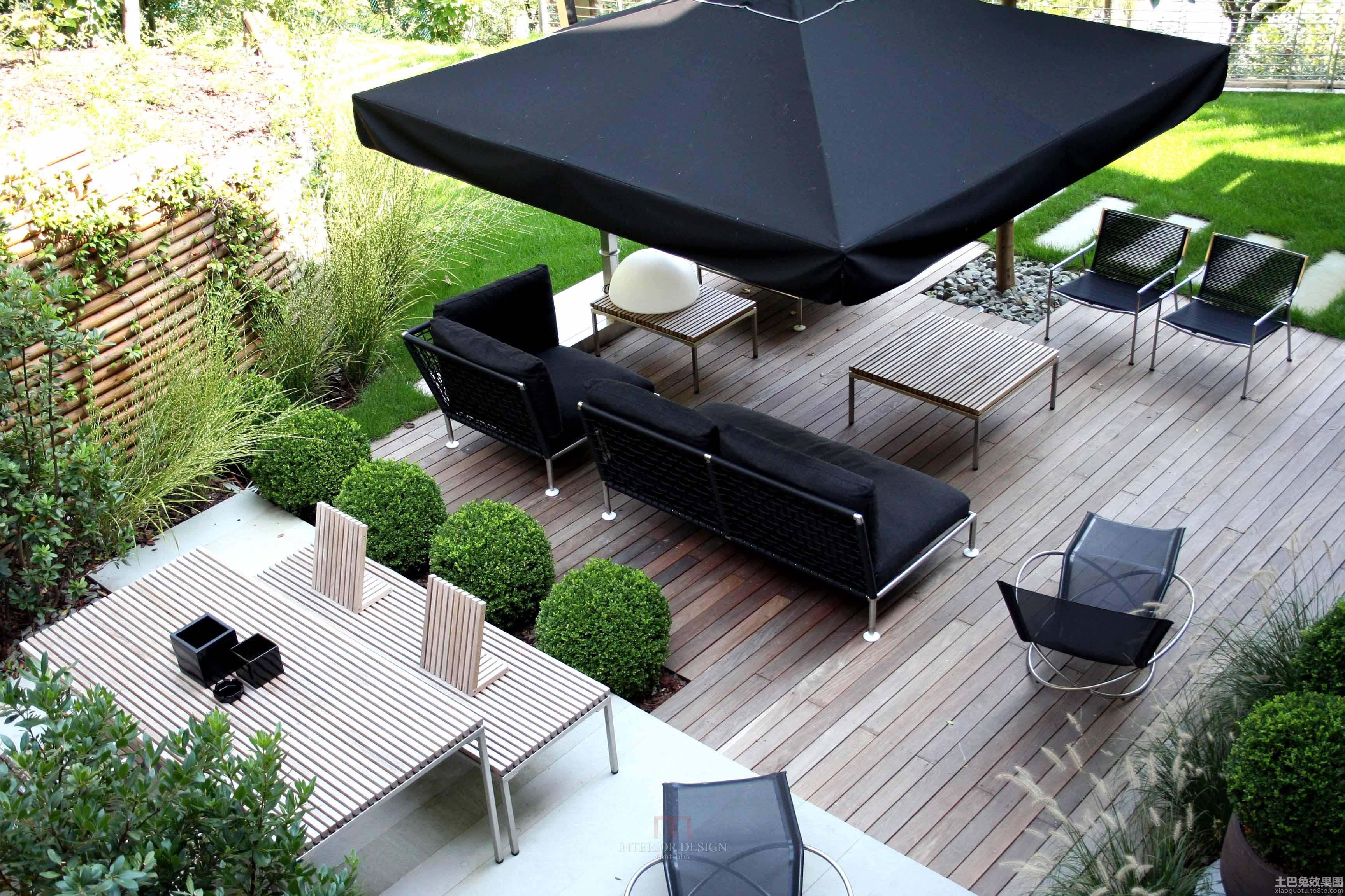 私家庭院景观设计效果图片装修效果图 第7张 家居图库 九正家居网