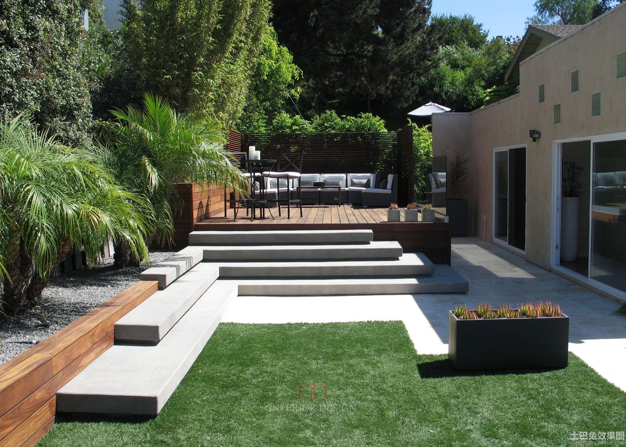 私家庭院景观设计图片大全装修效果图 第5张 家居图库 九正家居网